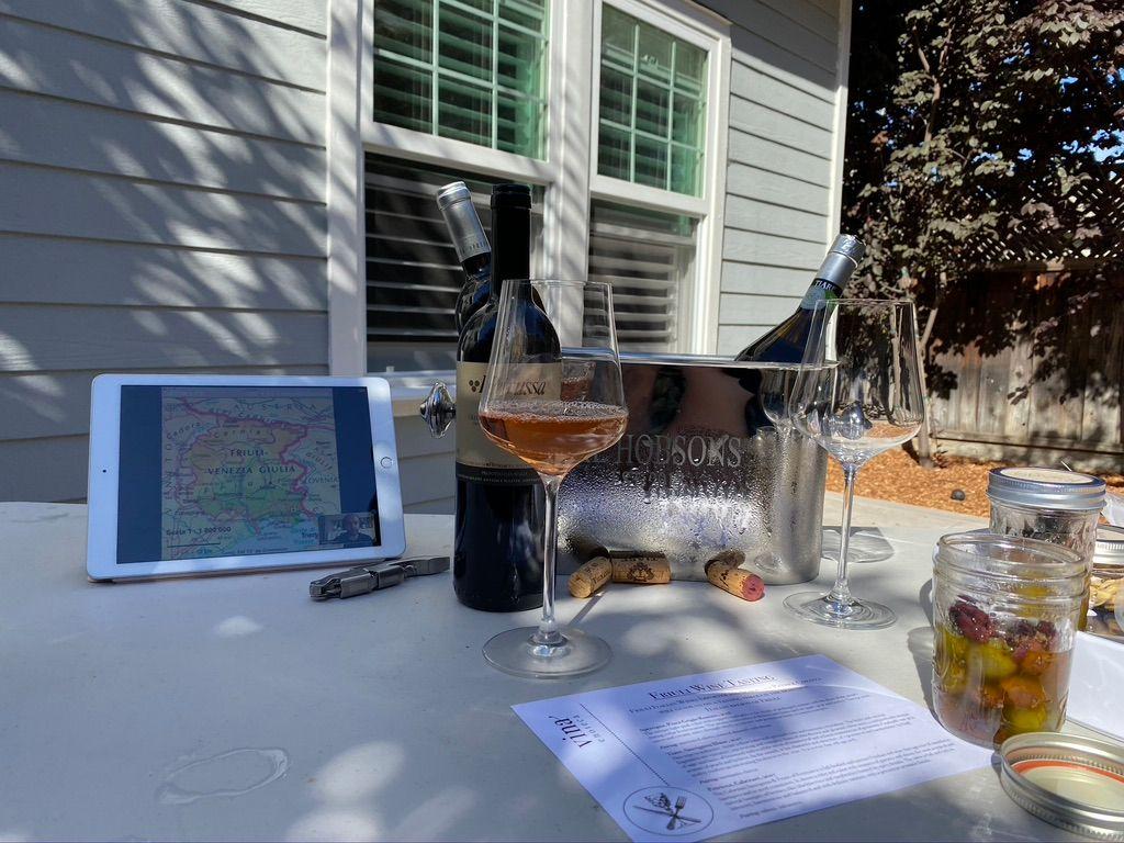 Virtual wine tasting with Vina Enoteca